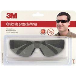 c21a7ec93 Óculos de Proteção Virtua Cinza com Tratamento Antirrisco Hastes e ...