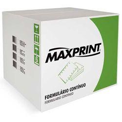 Formulário Contínuo 1 Via Branco Microsserrilhado 80 Colunas 56g/M2 Cx/3000 Folhas