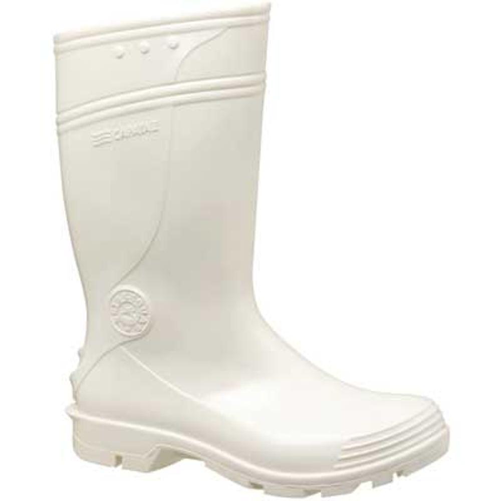 9a107799af1 Bota Branca em PVC Forrada Número 43 - Modelo Capataz II Cano Curto ...