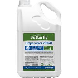 Limpa Vidros Butterfly Vidrax Galão com 5 Litros. Alto brilho.